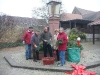 Adventskranz in Wicker