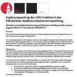 Ergänzungsantrag CDU-Fraktion