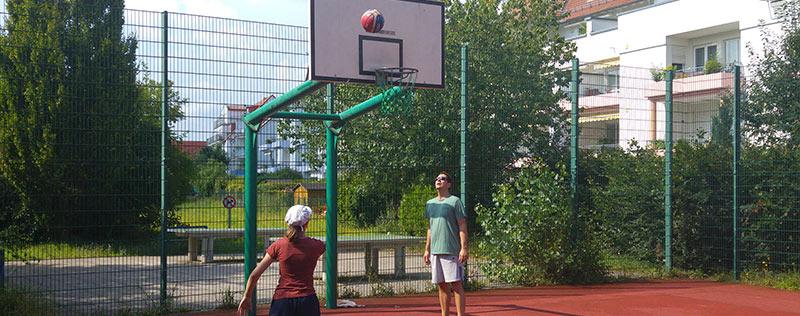 Streetballanlage