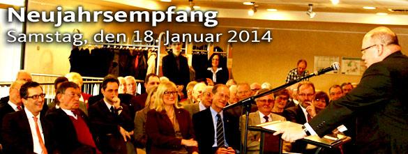 Neujahrsempfang 2014 der CDU Flörsheim am Main