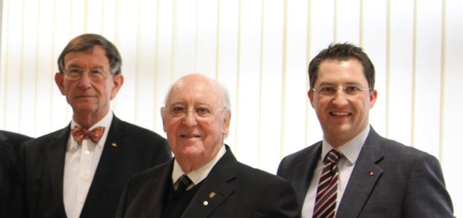 CDU Flörsheim gratuliert Altbürgermeister Josef Anna zum 85. Geburtstag
