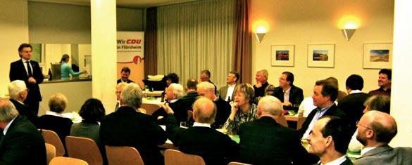 Flörsheimer CDU lädt zum Kateressen am Aschermittwoch