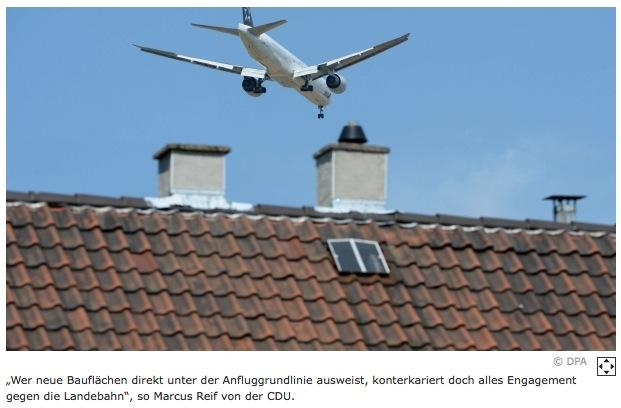 Main-Spitze: Flörsheimer Stadtverordnete lehnen Lärmpausenmodelle ab