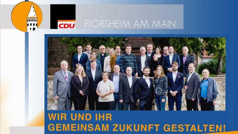 Kommunalwahlprogramm 2016 der CDU Flörsheim am Main