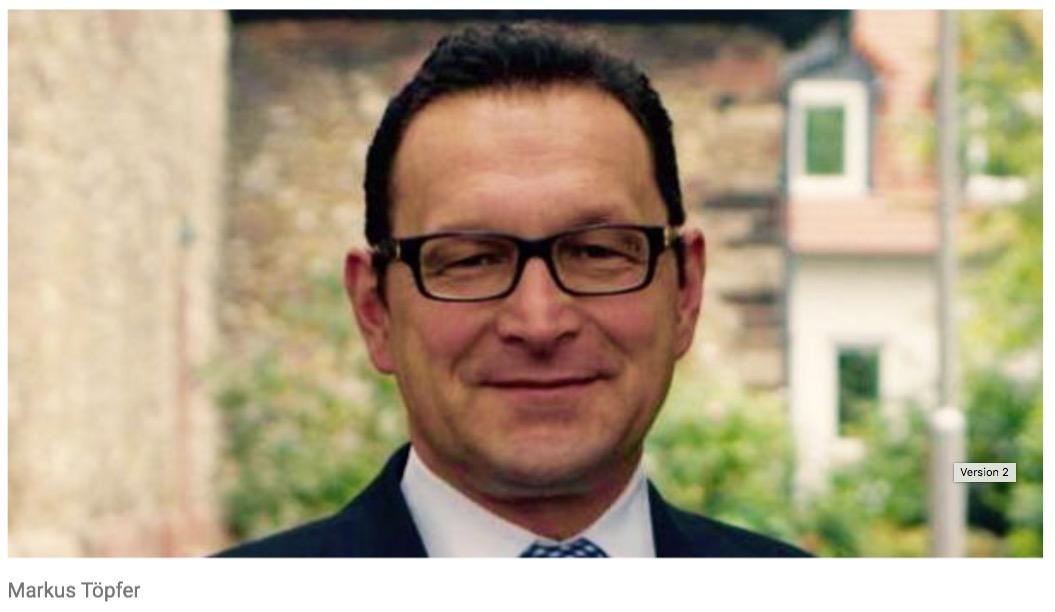 Markus Töpfer tritt als Vorsitzender der CDU Flörsheim am Main zurück