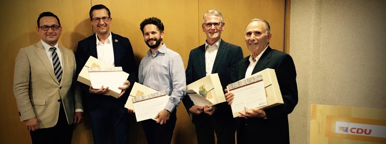 Flörsheimer CDU ehrt langjährige Mitglieder