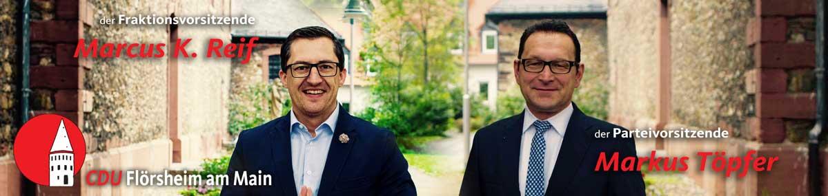 """Markus Töpfer und Marcus Reif: """"Wir stimmen für Norbert Altenkamp!"""""""