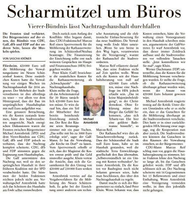 Höchster Kreisblatt vom 05.11.2016