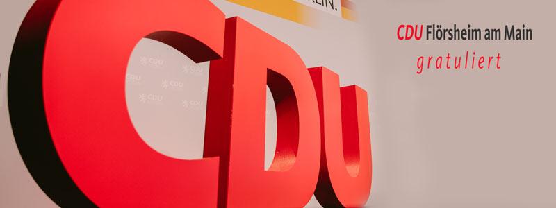 CDU Flörsheim gratuliert Heinz-Josef Großmann zum 90. Geburtstag