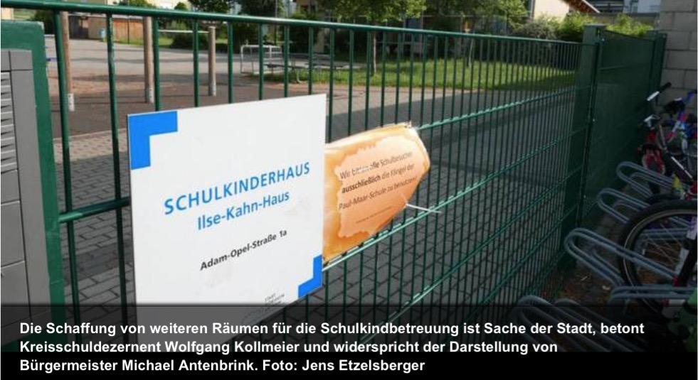 """Wolfgang Kollmeier: """"Schlicht und ergreifend falsch"""" #Schulkinderhaus"""