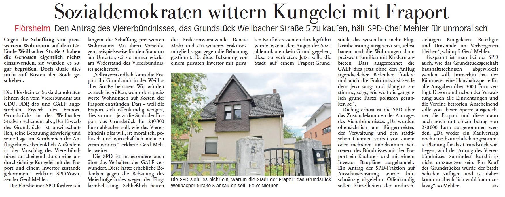 Höchster Kreisblatt vom 06.07.2017