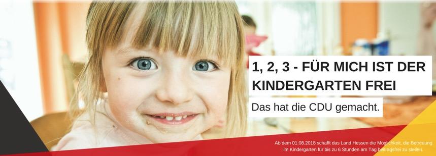 Ab 1. August 2018 wird der Kindergarten beitragsfrei!