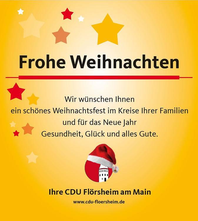 Wir wünschen Ihnen eine fröhliche Weihnacht