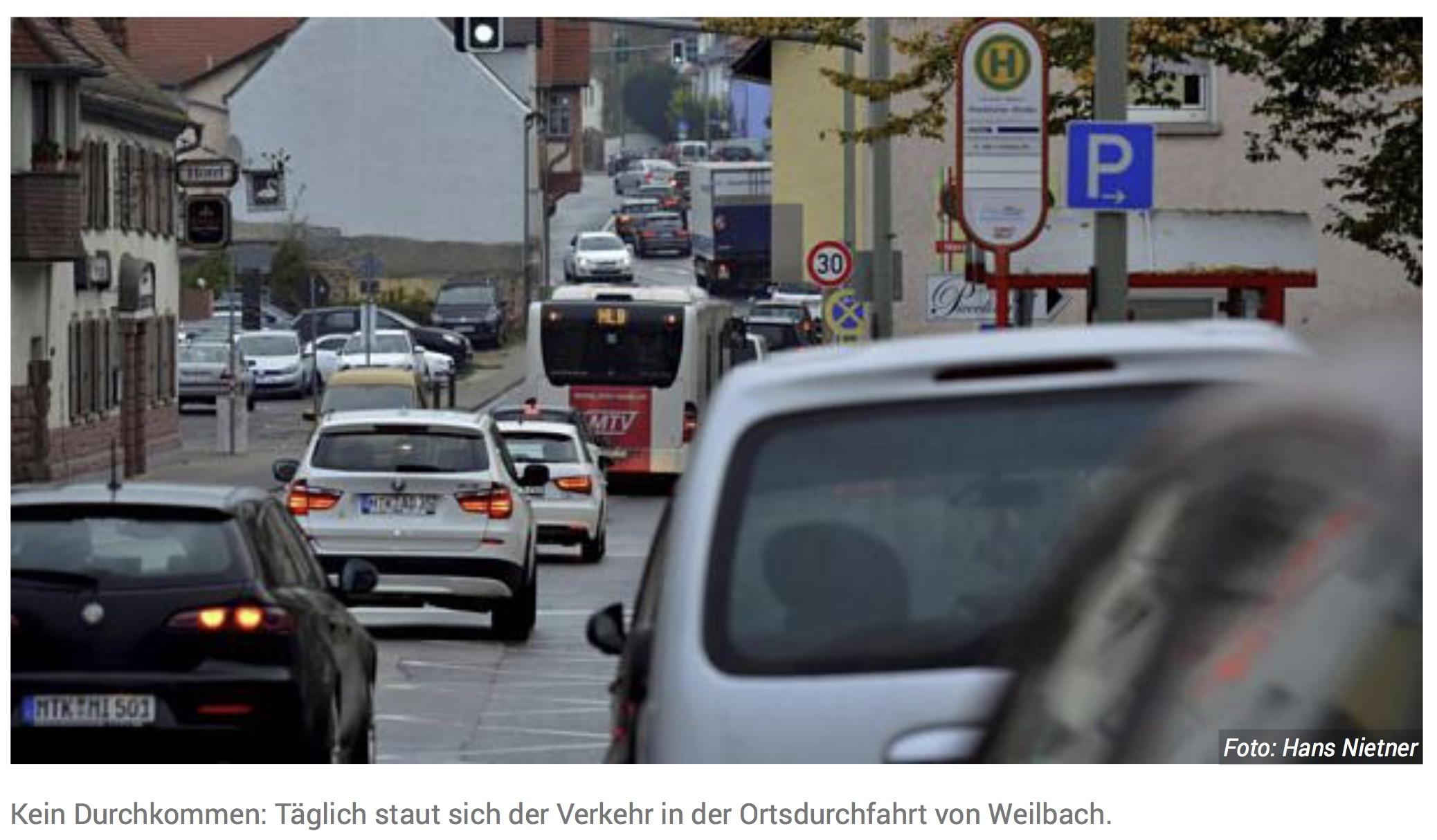 Hessen Mobil bringt kleine Weilbacher Umgehung auf den Weg
