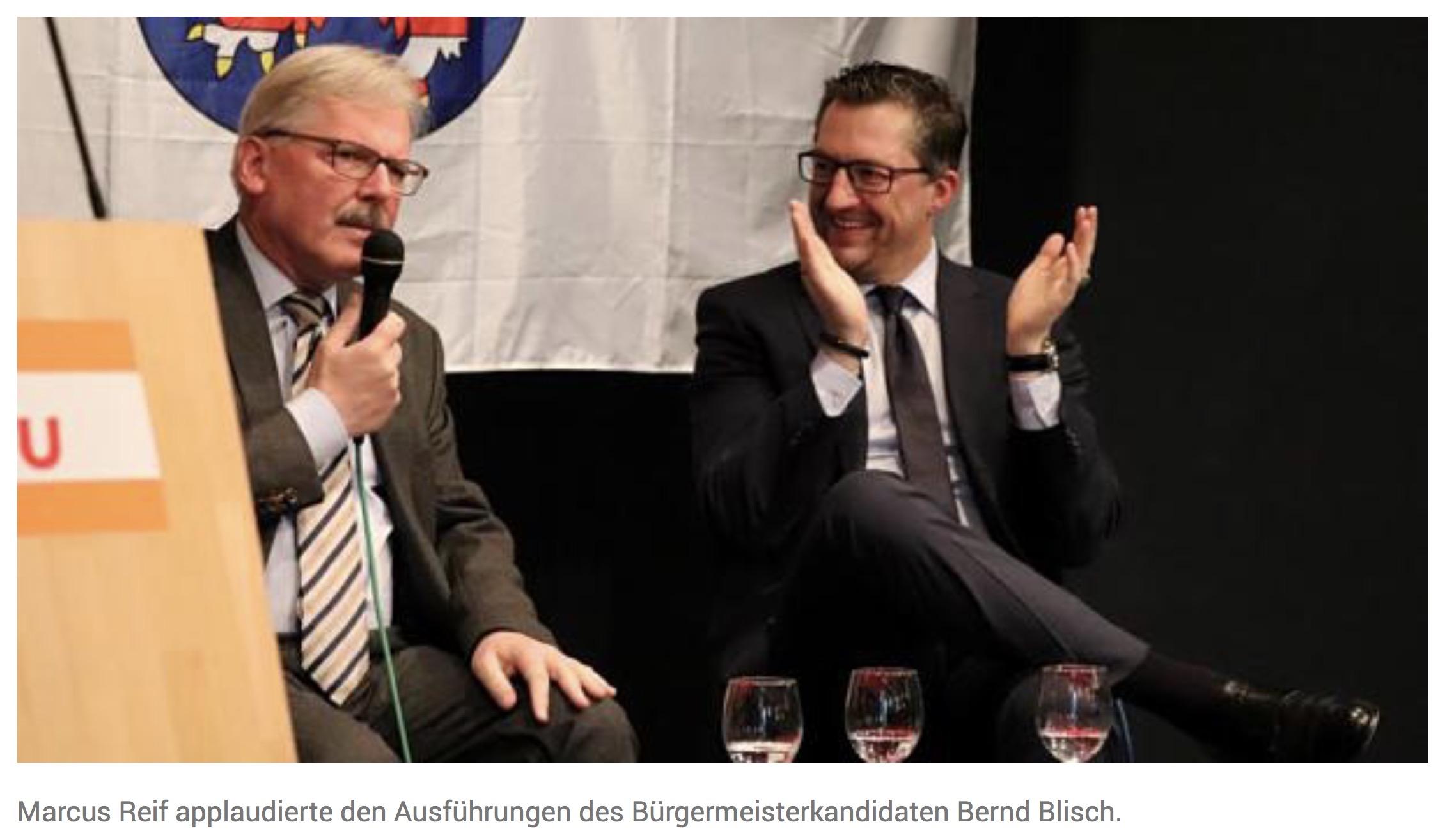 Bernd Blisch: Stadtentwicklung mit den Bürgern