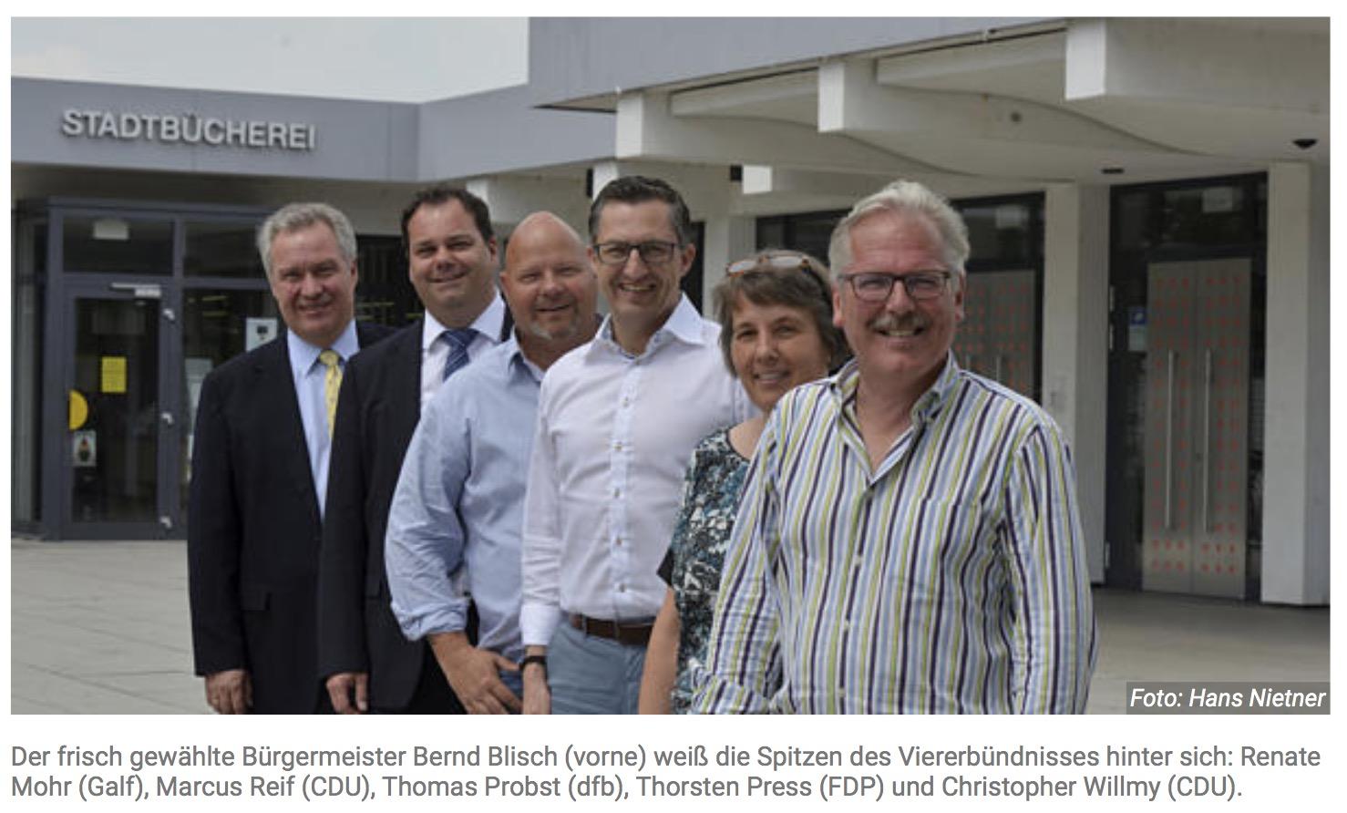 Diese Politiker wollen den politischen Stil in Flörsheim ändern