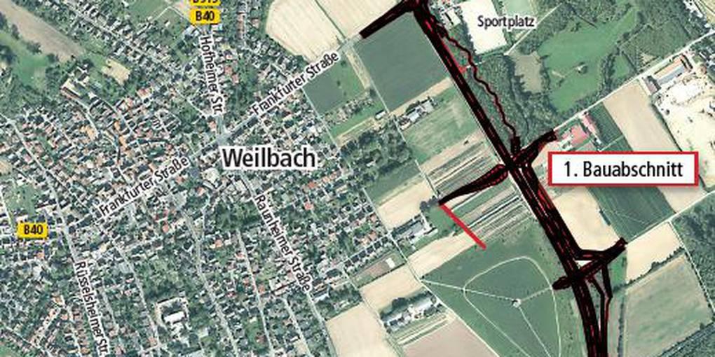 Kleine Umgehung Weilbach: Baurecht nach 60 Jahren