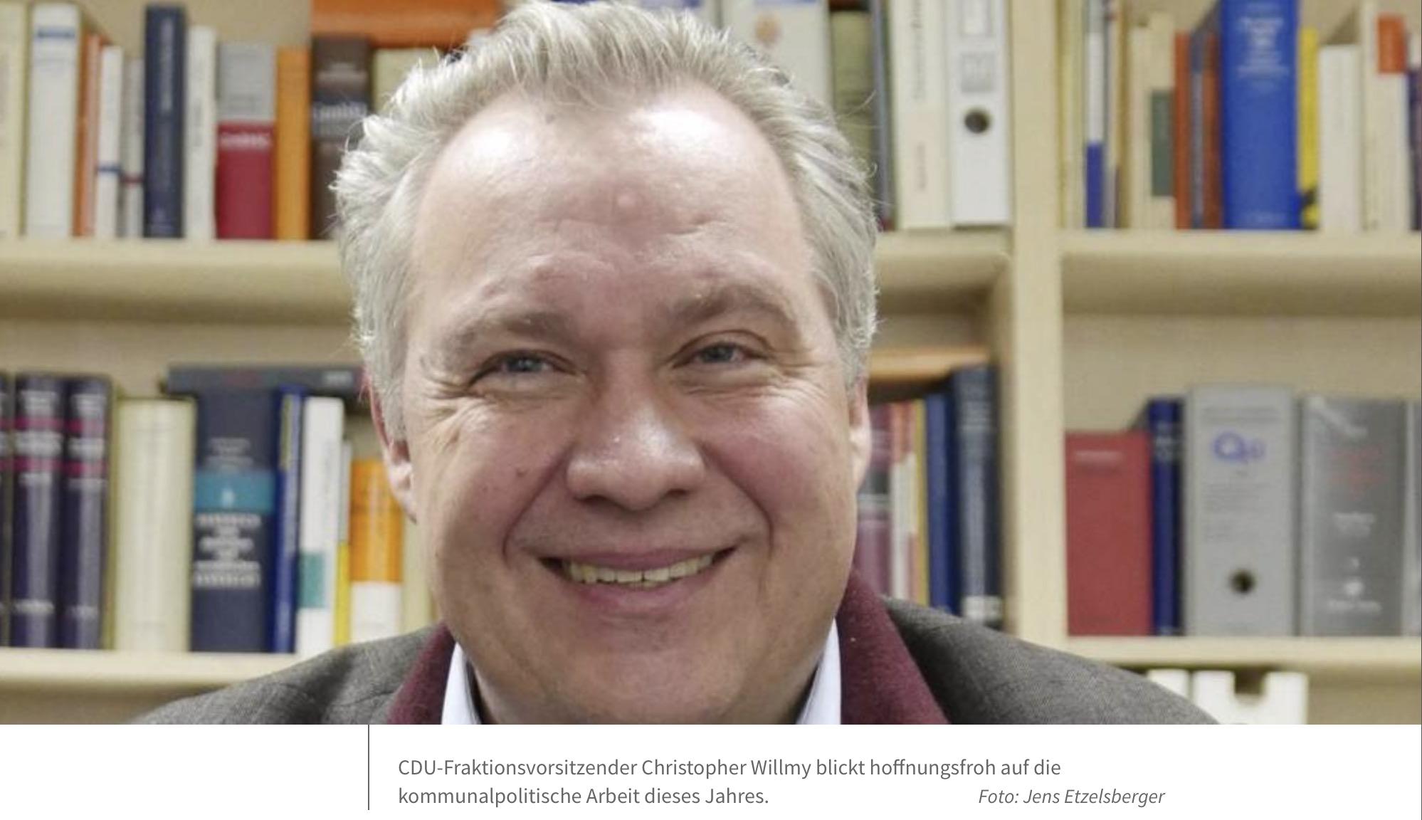 Flörsheims CDU-Fraktionschef plädiert für mehr Realitätssinn