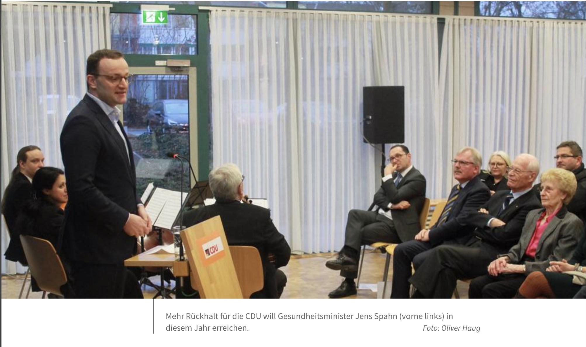 Jens Spahn: Zu viel Streit um zu wenig