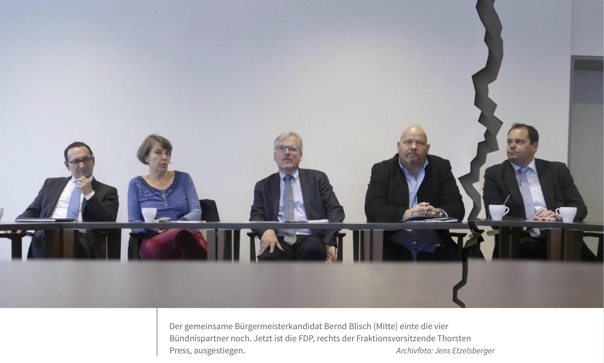 Pressestimmen: FDP steigt aus Viererbündnis aus