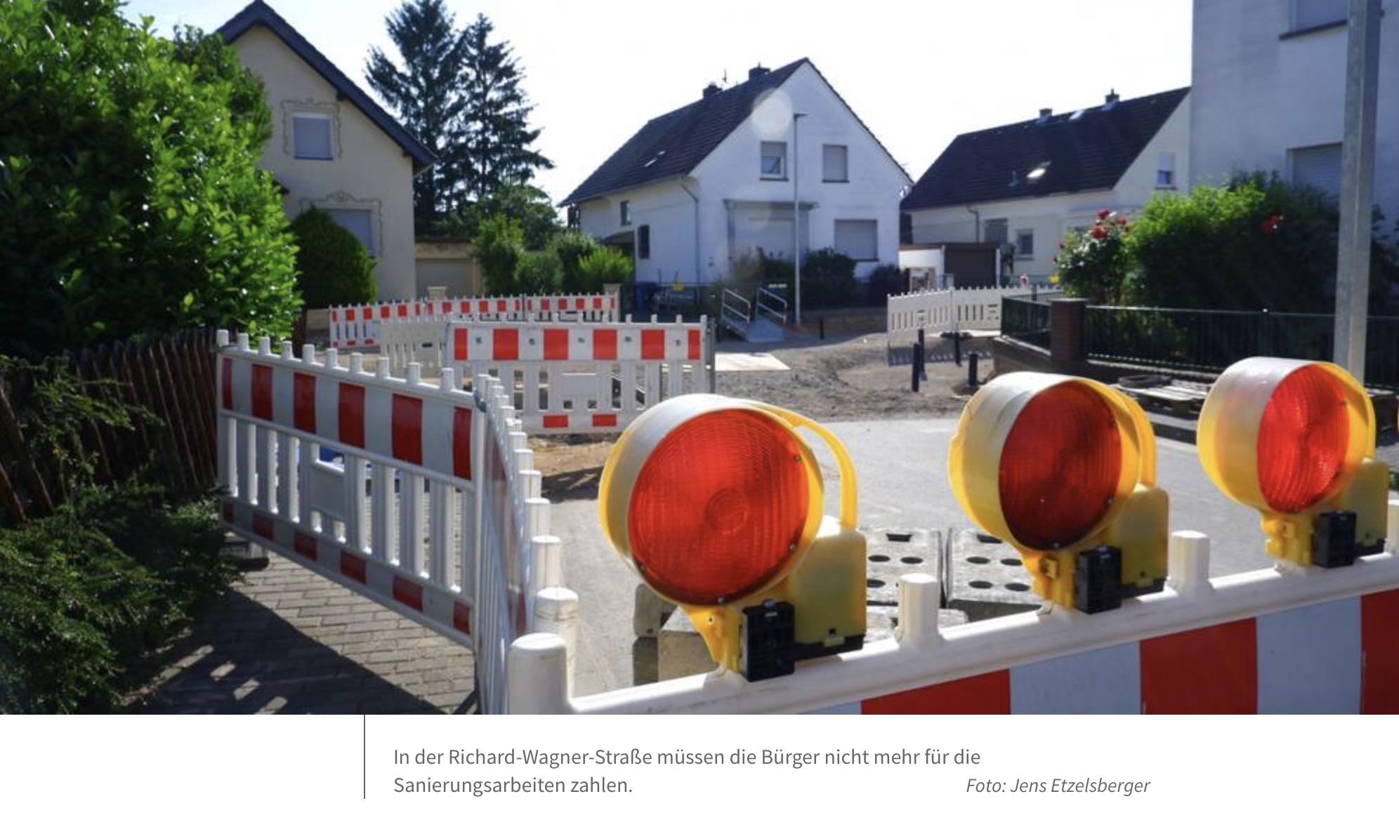 Flörsheimer Stadtverordnete schaffen Straßenbeiträge ab