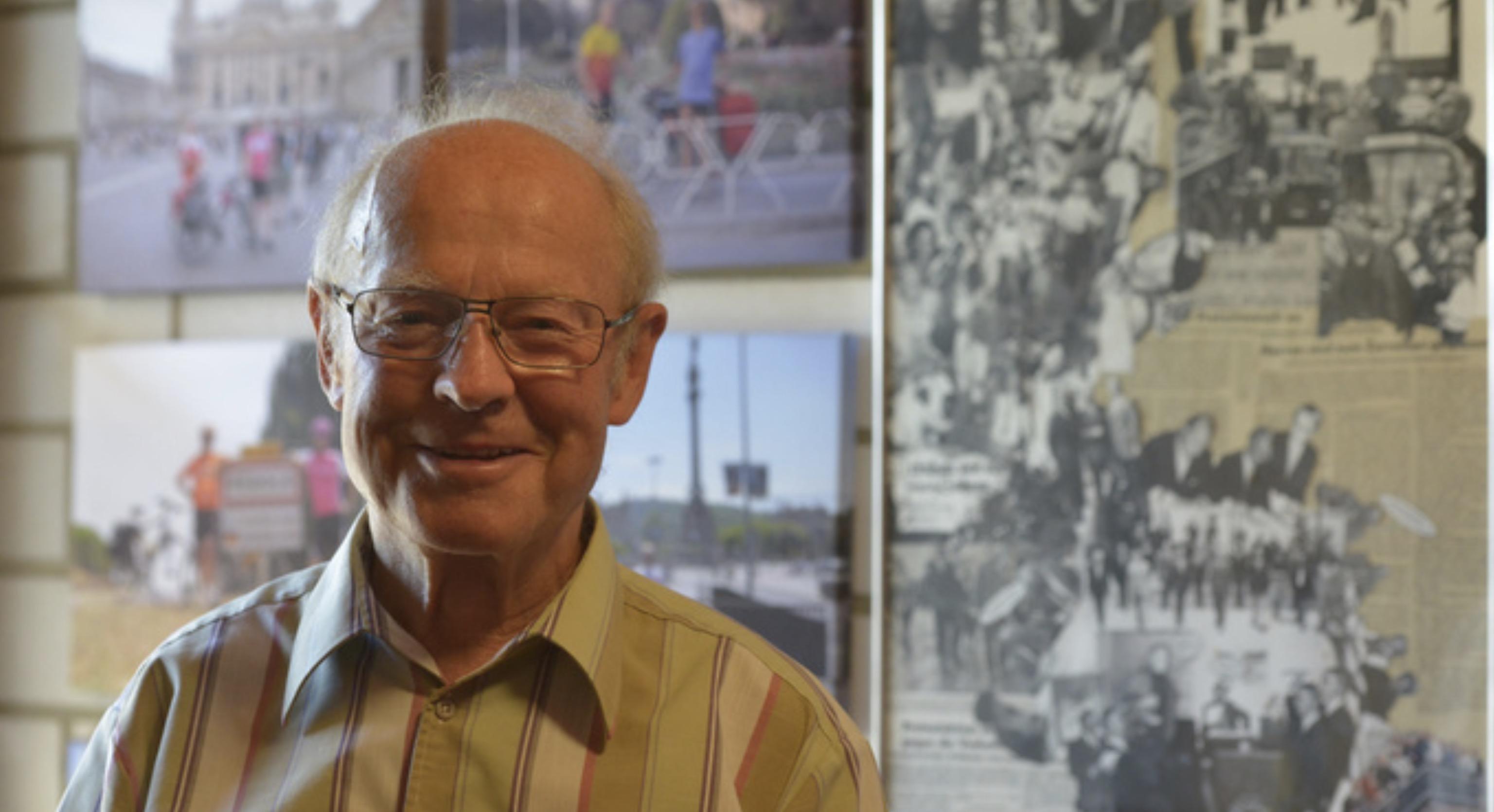 Norbert Hegmann feiert seinen 80. Geburtstag
