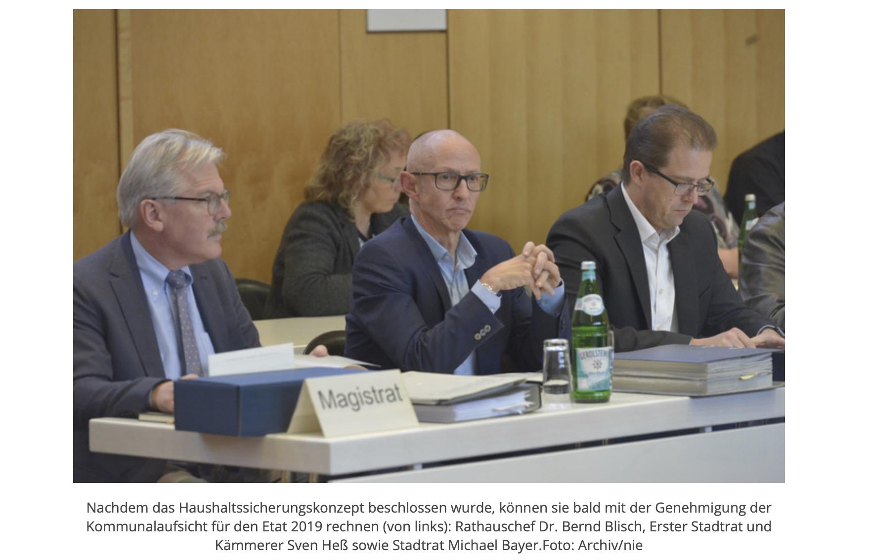 """Höchster Kreisblatt: """"Mehr als ärgerlich"""""""
