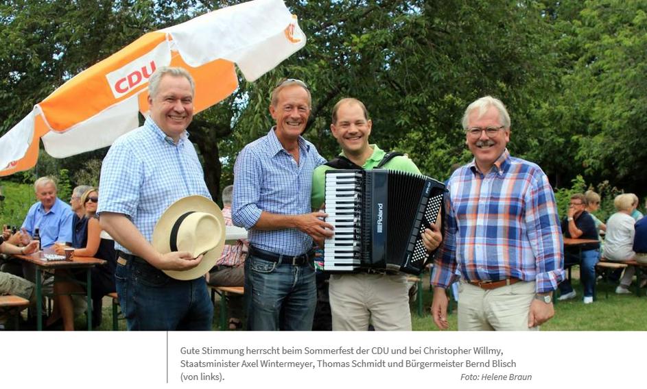 Main-Spitze: CDU blickt in die Zukunft