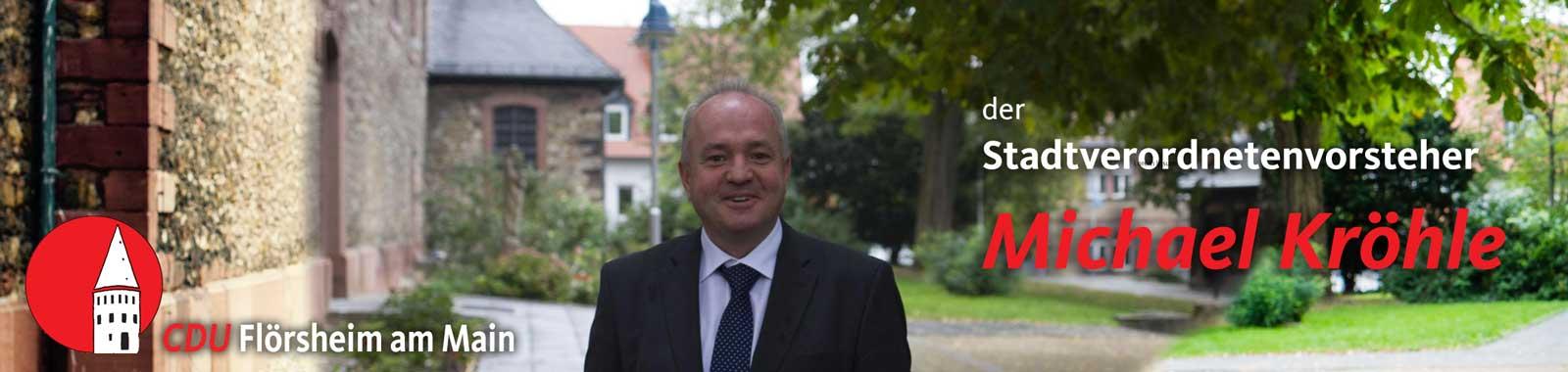 CDU Flörsheim gratuliert: Michael Kröhle wird 50 Jahre alt