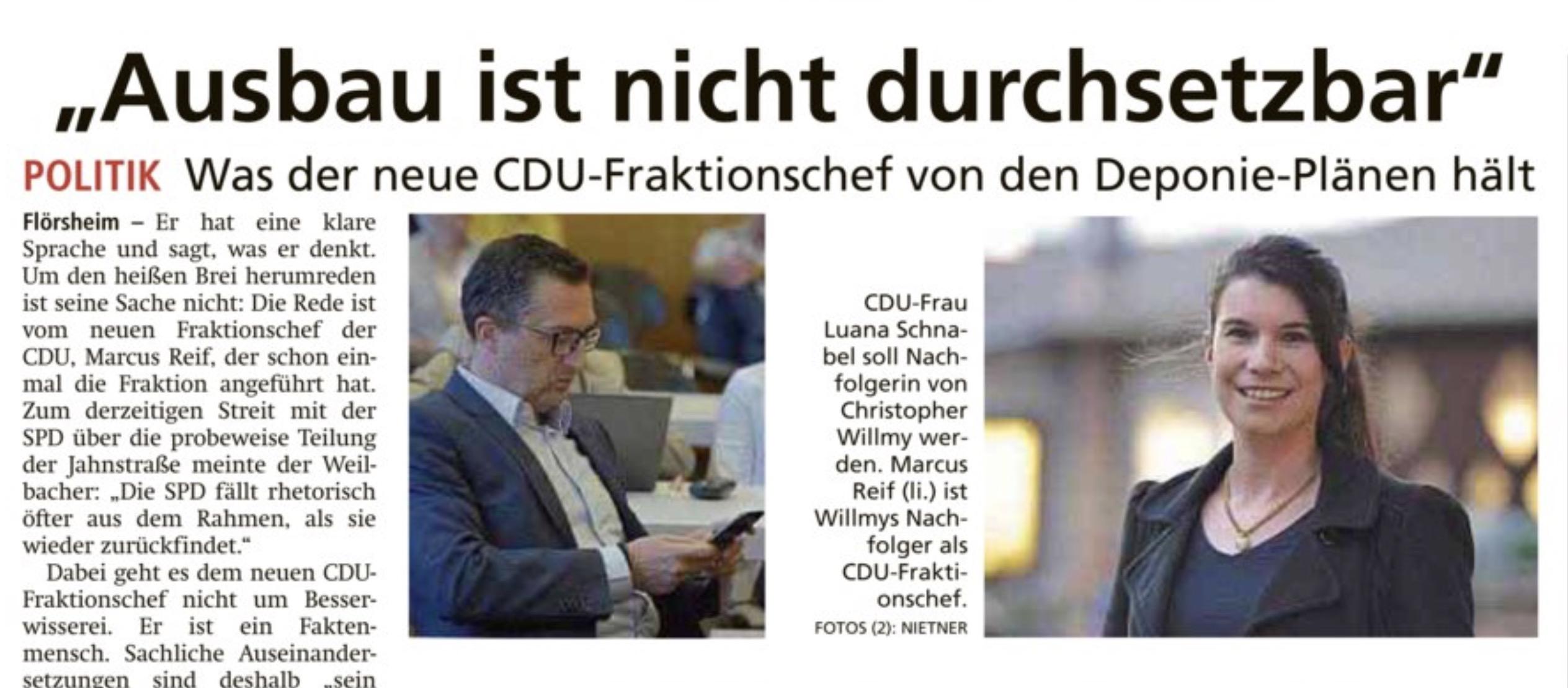 """Höchster Kreisblatt: """"Ausbau ist nicht durchsetzbar"""""""