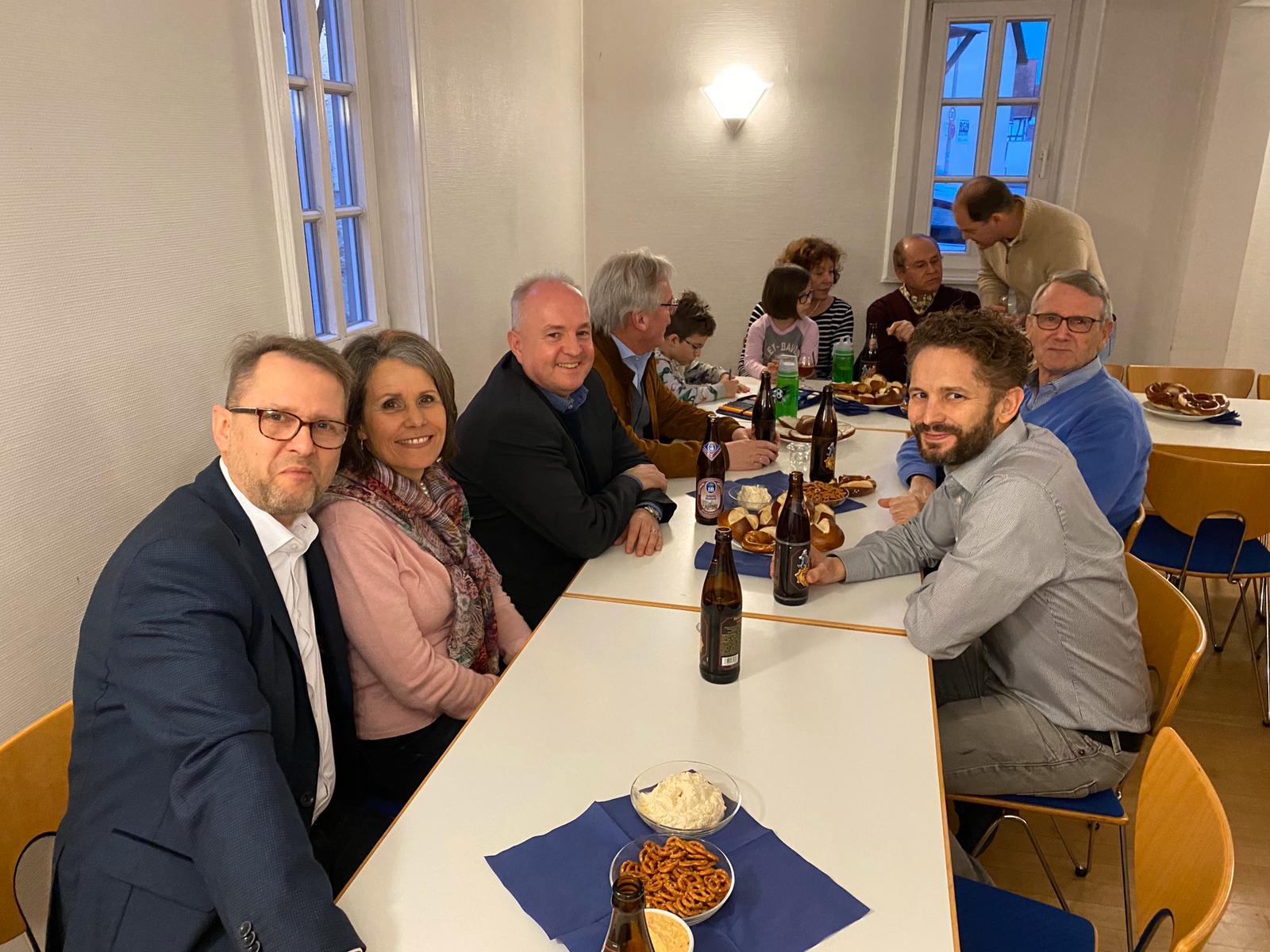 Bierprobe der CDU in Weilbach