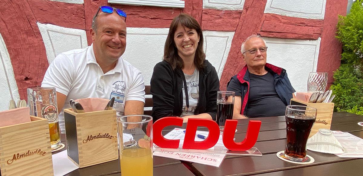 Offener Stammtisch der CDU in Flörsheim ein voller Erfolg