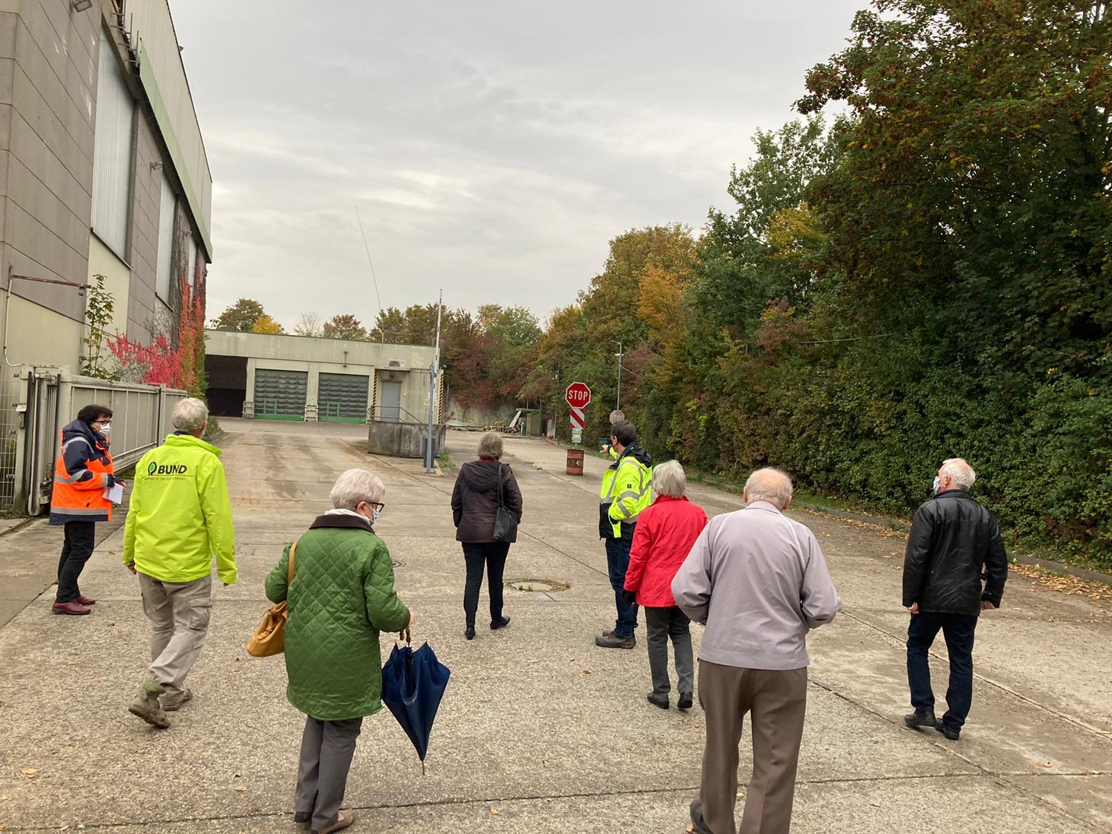 Bürgergespräche zum geplanten neuen Wertstoffhof in Wicker