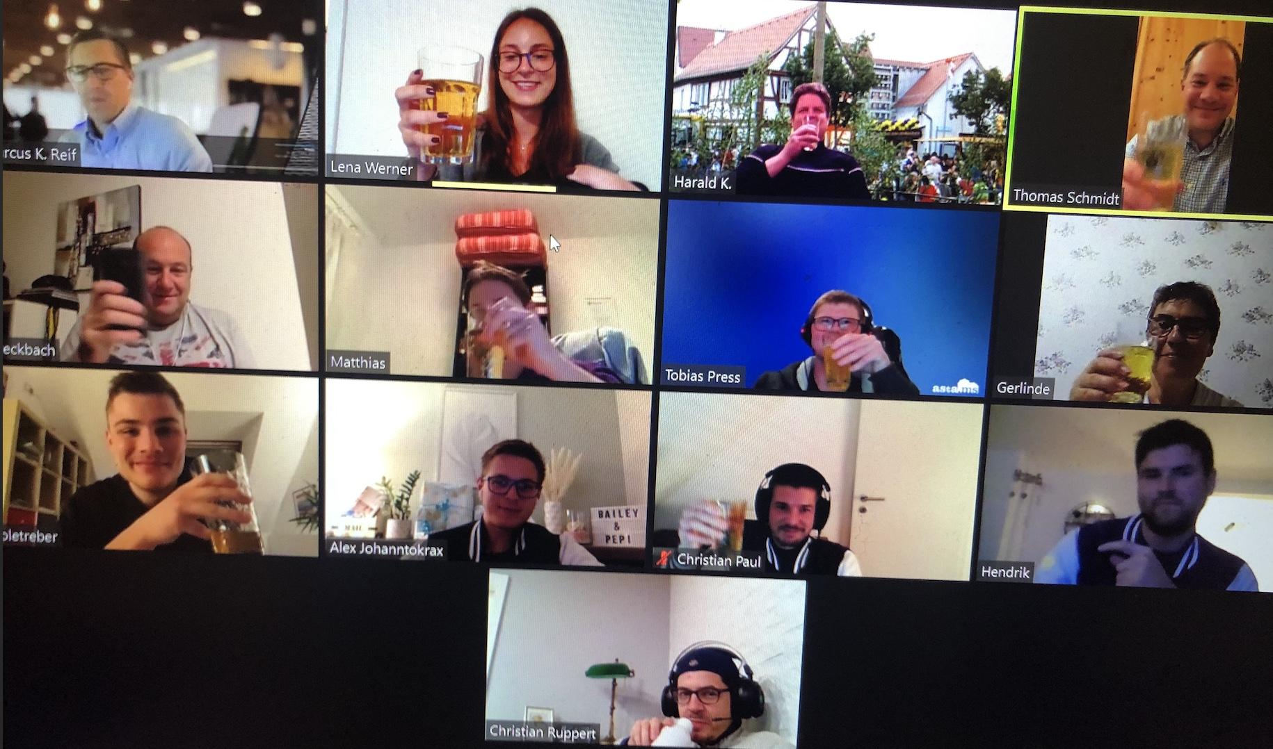 Virtueller Äpplerabend mit den Kerbeborsch Weilbach
