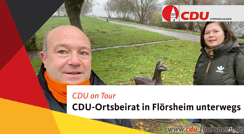 CDU-Ortsbeirat on Tour in Flörsheim