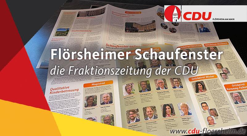 Fraktionszeitung: Flörsheimer Schaufenster, Dezember 2020