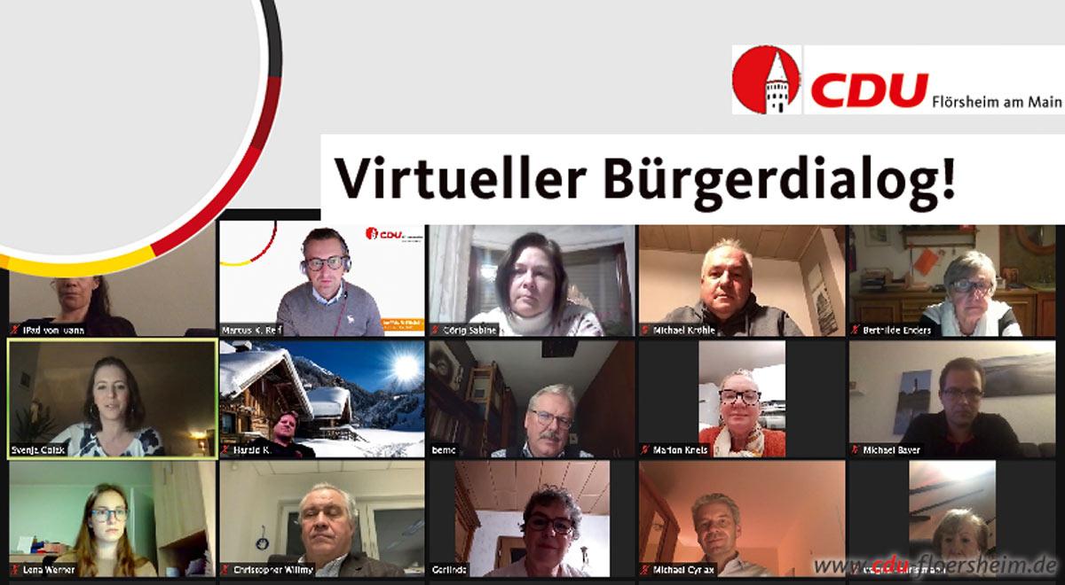 Flörsheimer Zeitung: Online-Austausch mit dem Landrat