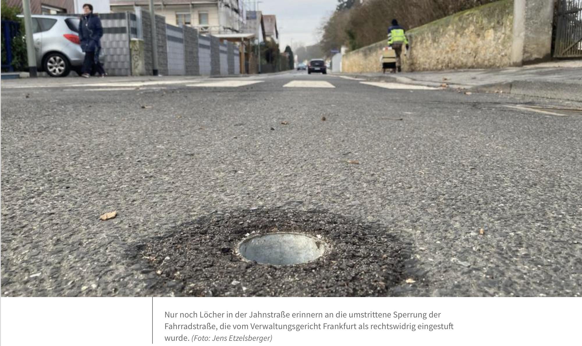 Main-Spitze: Wer hat Vorfahrt in Flörsheim