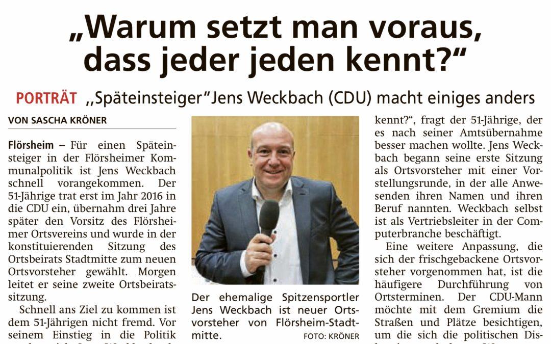 """Höchster Kreisblatt: """"Warum setzt man voraus, dass jeder jeden kennt?"""""""