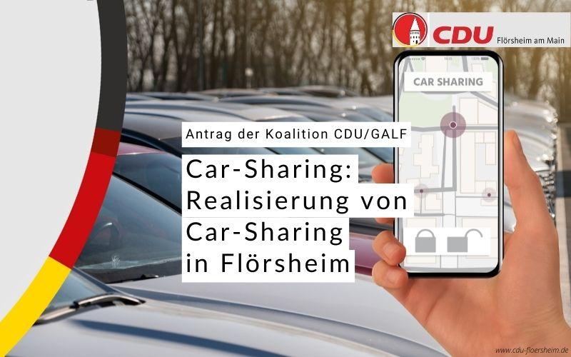CDU und GALF wollen Realisierung von Car-Sharing in Flörsheim prüfen lassen