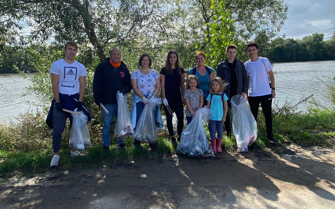 Ortsbeirat Stadtmitte beim Main Clean-Up