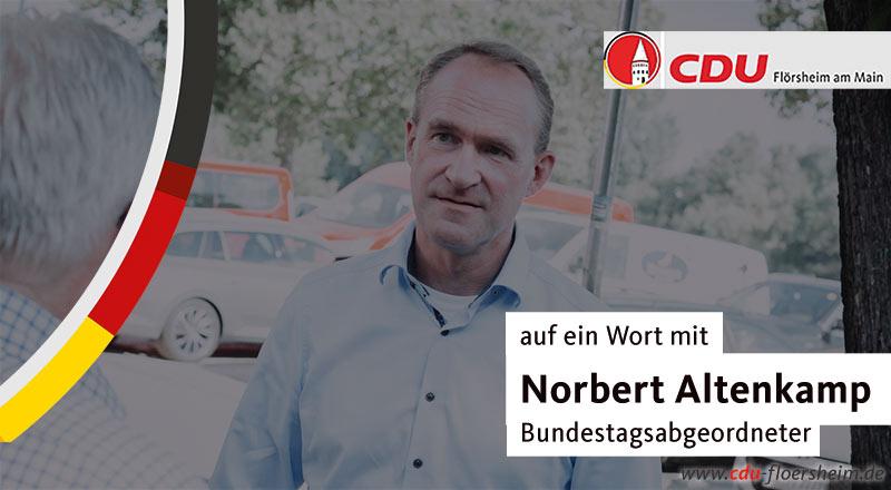 Unterwegs in Flörsheim mit Norbert Altenkamp
